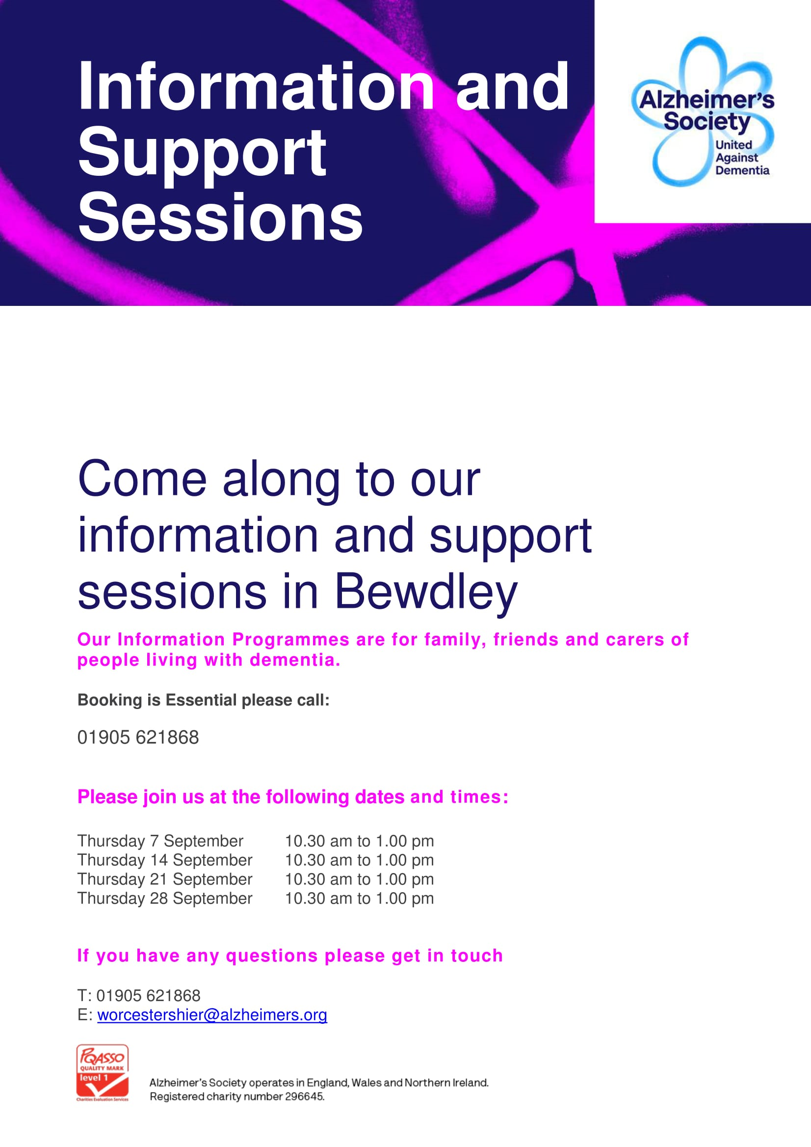 CrISP Info Session Bewdley Poster September 2017-1